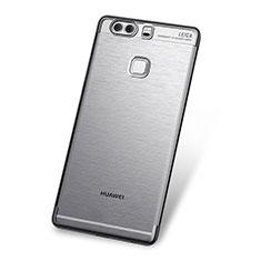 Coque Ultra Fine TPU Souple Housse Etui Transparente H03 pour Huawei P9 Gris
