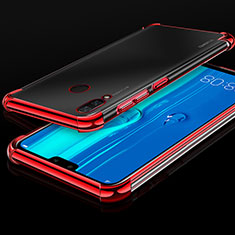 Coque Ultra Fine TPU Souple Housse Etui Transparente H03 pour Huawei Y9 (2019) Rouge