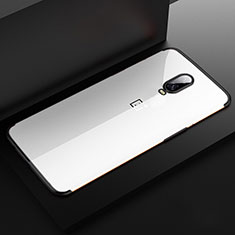 Coque Ultra Fine TPU Souple Housse Etui Transparente H03 pour OnePlus 6T Noir