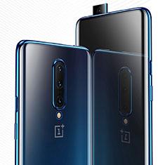 Coque Ultra Fine TPU Souple Housse Etui Transparente H03 pour OnePlus 7 Pro Bleu