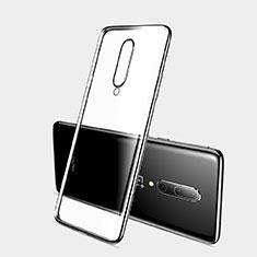 Coque Ultra Fine TPU Souple Housse Etui Transparente H03 pour OnePlus 7 Pro Noir
