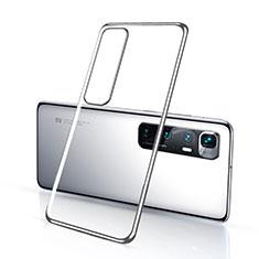 Coque Ultra Fine TPU Souple Housse Etui Transparente H03 pour Xiaomi Mi 10 Ultra Argent