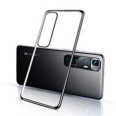 Coque Ultra Fine TPU Souple Housse Etui Transparente H03 pour Xiaomi Mi 10 Ultra Noir