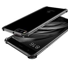 Coque Ultra Fine TPU Souple Housse Etui Transparente H03 pour Xiaomi Mi 6 Noir