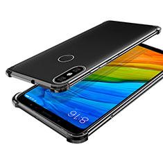 Coque Ultra Fine TPU Souple Housse Etui Transparente H03 pour Xiaomi Mi 6X Gris