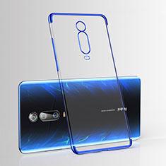 Coque Ultra Fine TPU Souple Housse Etui Transparente H03 pour Xiaomi Mi 9T Bleu