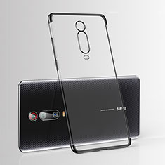 Coque Ultra Fine TPU Souple Housse Etui Transparente H03 pour Xiaomi Mi 9T Noir