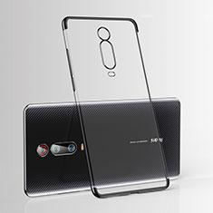 Coque Ultra Fine TPU Souple Housse Etui Transparente H03 pour Xiaomi Mi 9T Pro Noir