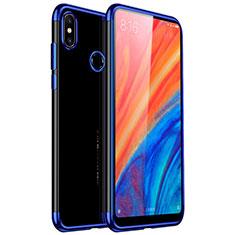 Coque Ultra Fine TPU Souple Housse Etui Transparente H03 pour Xiaomi Mi Mix 2S Bleu