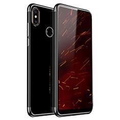 Coque Ultra Fine TPU Souple Housse Etui Transparente H03 pour Xiaomi Mi Mix 2S Noir