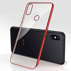Coque Ultra Fine TPU Souple Housse Etui Transparente H03 pour Xiaomi Mi Mix 3 Rouge