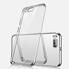 Coque Ultra Fine TPU Souple Housse Etui Transparente H03 pour Xiaomi Mi Note 3 Argent