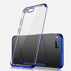 Coque Ultra Fine TPU Souple Housse Etui Transparente H03 pour Xiaomi Mi Note 3 Bleu