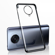 Coque Ultra Fine TPU Souple Housse Etui Transparente H03 pour Xiaomi Redmi K30 Pro 5G Noir