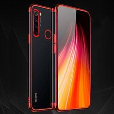Coque Ultra Fine TPU Souple Housse Etui Transparente H03 pour Xiaomi Redmi Note 8 Rouge