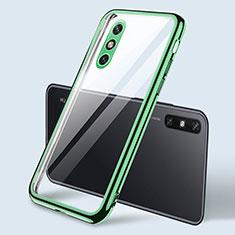 Coque Ultra Fine TPU Souple Housse Etui Transparente H04 pour Huawei Enjoy 10e Vert