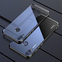 Coque Ultra Fine TPU Souple Housse Etui Transparente H04 pour Huawei Honor V10 Lite Noir