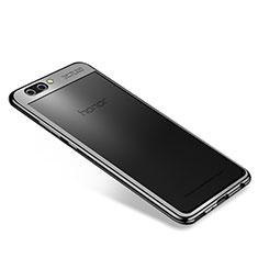 Coque Ultra Fine TPU Souple Housse Etui Transparente H04 pour Huawei Honor V10 Noir