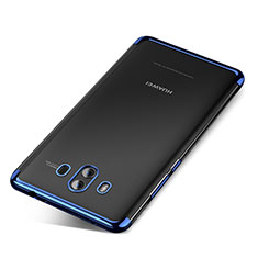 Coque Ultra Fine TPU Souple Housse Etui Transparente H04 pour Huawei Mate 10 Bleu