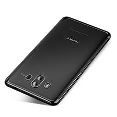 Coque Ultra Fine TPU Souple Housse Etui Transparente H04 pour Huawei Mate 10 Noir