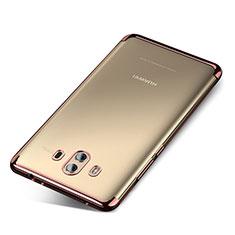 Coque Ultra Fine TPU Souple Housse Etui Transparente H04 pour Huawei Mate 10 Or Rose