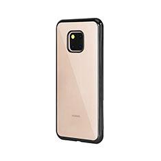 Coque Ultra Fine TPU Souple Housse Etui Transparente H04 pour Huawei Mate 20 Pro Noir