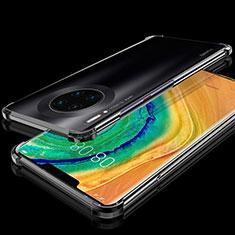 Coque Ultra Fine TPU Souple Housse Etui Transparente H04 pour Huawei Mate 30 Noir