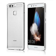 Coque Ultra Fine TPU Souple Housse Etui Transparente H04 pour Huawei P9 Argent