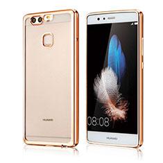 Coque Ultra Fine TPU Souple Housse Etui Transparente H04 pour Huawei P9 Or