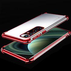 Coque Ultra Fine TPU Souple Housse Etui Transparente H04 pour Xiaomi Mi 10 Ultra Rouge