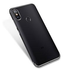 Coque Ultra Fine TPU Souple Housse Etui Transparente H04 pour Xiaomi Mi 6X Noir