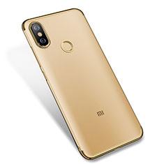 Coque Ultra Fine TPU Souple Housse Etui Transparente H04 pour Xiaomi Mi 6X Or