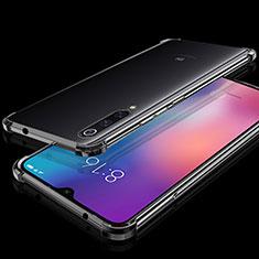 Coque Ultra Fine TPU Souple Housse Etui Transparente H04 pour Xiaomi Mi 9 Noir