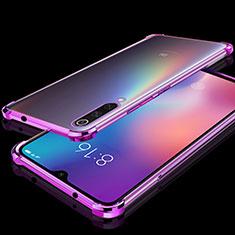 Coque Ultra Fine TPU Souple Housse Etui Transparente H04 pour Xiaomi Mi 9 Violet