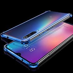 Coque Ultra Fine TPU Souple Housse Etui Transparente H04 pour Xiaomi Mi A3 Lite Bleu
