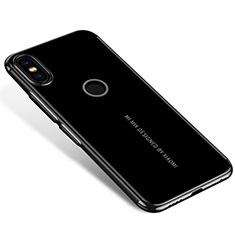 Coque Ultra Fine TPU Souple Housse Etui Transparente H04 pour Xiaomi Mi Mix 2S Noir
