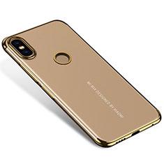 Coque Ultra Fine TPU Souple Housse Etui Transparente H04 pour Xiaomi Mi Mix 2S Or