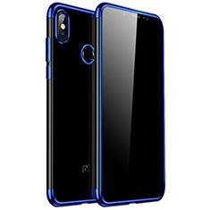 Coque Ultra Fine TPU Souple Housse Etui Transparente H04 pour Xiaomi Redmi Note 5 Pro Bleu