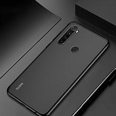 Coque Ultra Fine TPU Souple Housse Etui Transparente H04 pour Xiaomi Redmi Note 8 Noir
