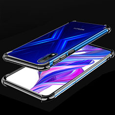 Coque Ultra Fine TPU Souple Housse Etui Transparente H05 pour Huawei Honor 9X Noir