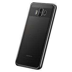 Coque Ultra Fine TPU Souple Housse Etui Transparente H05 pour Huawei Mate 10 Noir