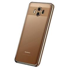 Coque Ultra Fine TPU Souple Housse Etui Transparente H05 pour Huawei Mate 10 Or