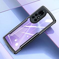 Coque Ultra Fine TPU Souple Housse Etui Transparente H05 pour Huawei Nova 8 Pro 5G Noir