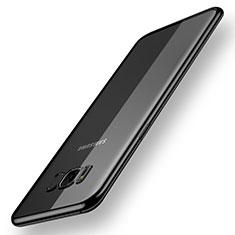 Coque Ultra Fine TPU Souple Housse Etui Transparente H05 pour Samsung Galaxy S8 Plus Noir