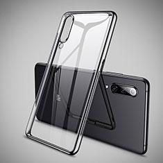 Coque Ultra Fine TPU Souple Housse Etui Transparente H05 pour Xiaomi Mi 9 Pro 5G Noir