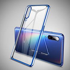 Coque Ultra Fine TPU Souple Housse Etui Transparente H05 pour Xiaomi Mi 9 SE Bleu