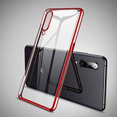 Coque Ultra Fine TPU Souple Housse Etui Transparente H05 pour Xiaomi Mi 9 SE Rouge