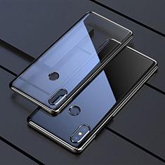 Coque Ultra Fine TPU Souple Housse Etui Transparente H05 pour Xiaomi Mi Mix 3 Noir