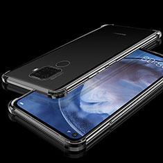 Coque Ultra Fine TPU Souple Housse Etui Transparente H07 pour Huawei Mate 30 Lite Noir