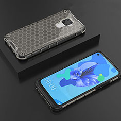 Coque Ultra Fine TPU Souple Housse Etui Transparente H08 pour Huawei Mate 30 Lite Noir
